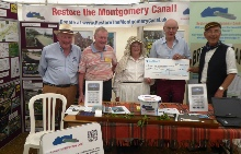 Restore The Montgomery Canal stand